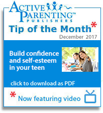 Active Parenting Tip of the Month